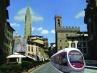 Piazza S. Firenze, tram e NY - Marcello Scalzo