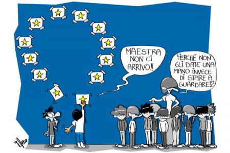 Una vignetta per l'Europa