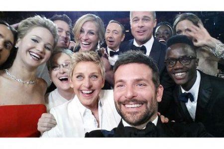 Behind the selfie