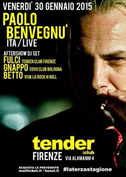 Paolo Benvegnù_Tender