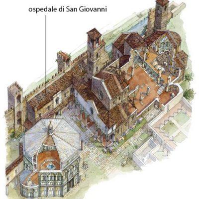 Un ospedale in piazza Duomo