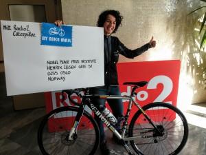 Il Premio Nobel è donna, come la bicicletta.