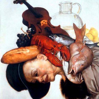 John Currin paintings