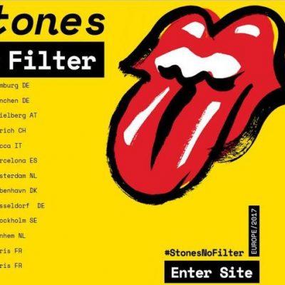 I Rolling Stones rotolano lungo le mura di Lucca