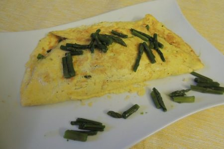 Ancora asparagi… Omelette!