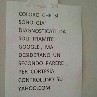 Il dottor Google