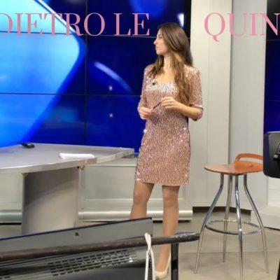Scene da un backstage con Elisa Sergi