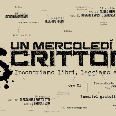 Pietro Maroè – Un Mercoledì da Scrittori