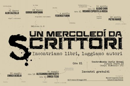 """Incontro con Giorgio Montanini (Le Iene) a """"Un mercoledì da scrittori"""""""