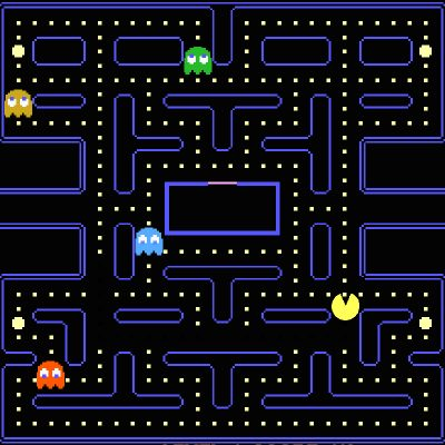 The Pac Man theory