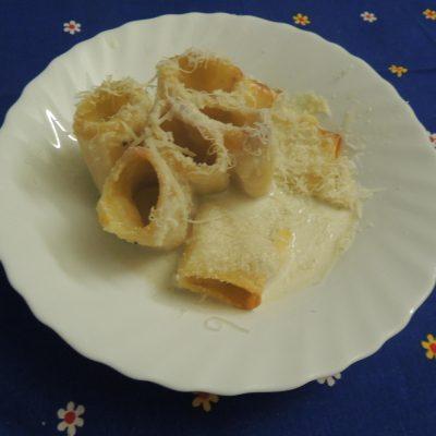 Paccheri alla crema di cavolfiore romano