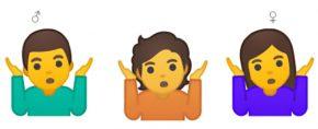 Emoji gender fluid