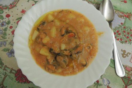 Patate fagioli zucca… Cozze!