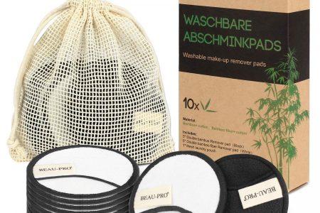 Idee per una cosmesi ecologica: dischetti riutilizzabili