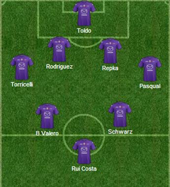 Fiorentina: The Best Of 1993 – 2013 – Il centrocampo