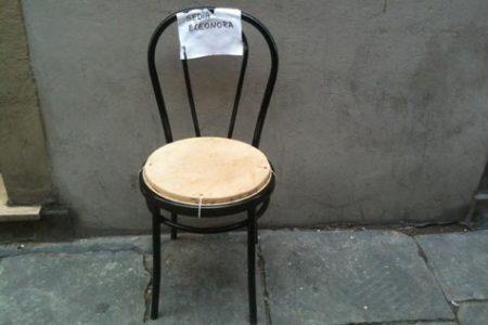 La sedia di Eleonora