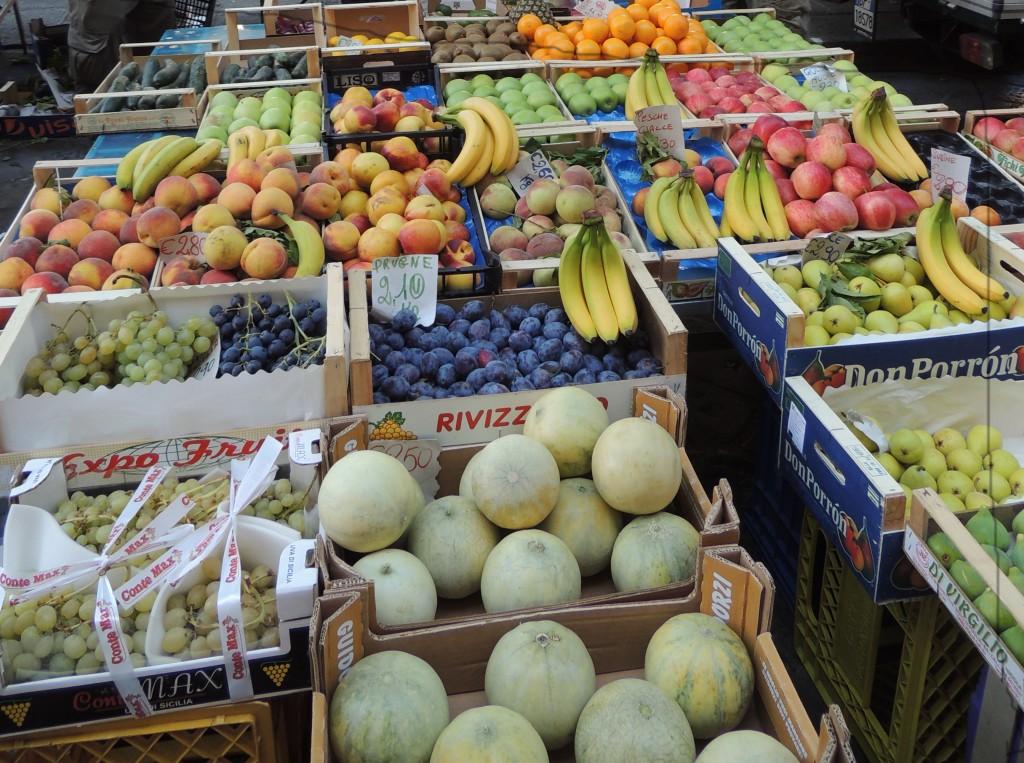 I colori e la frutta