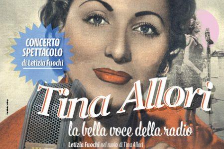 Tina Allori, la bella voce della radio