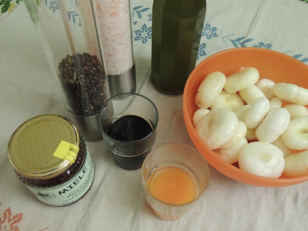 Ingredienti per la preparazione del piatto