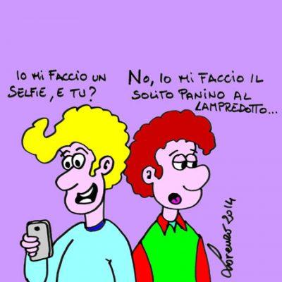 Selfie o lampredotto?