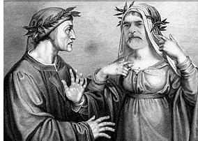 Dante e Beatroce