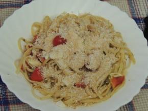 Spaghetti al sapore mediterraneo