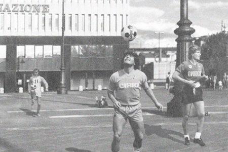 Free Match, Largo Annigoni diventa un campo da calcio