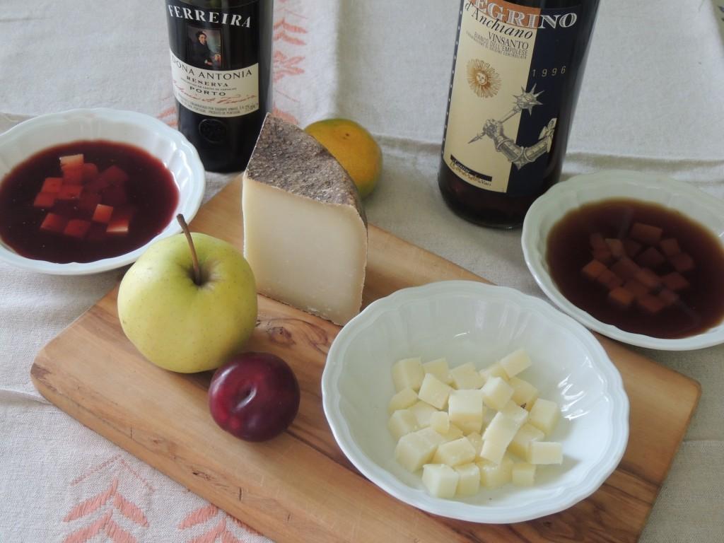 VinSanto, Porto e formaggio