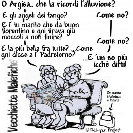Vecchiette Malefiche- ALLUVIONE - 04-11-2014