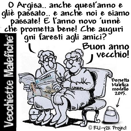 Vecchiette Malefiche- ADDIO DUEMILAQUATTORDICI-31-12-2014