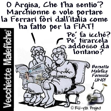 Vecchiette Malefiche- MArchionne Ferrari - 12-12-2014