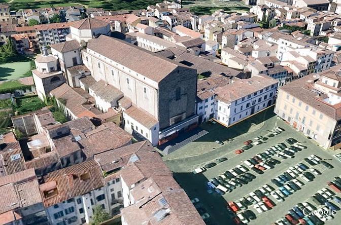 il parcheggio di piazza del Carmine