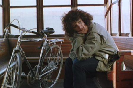 La bici di Jennifer Beals