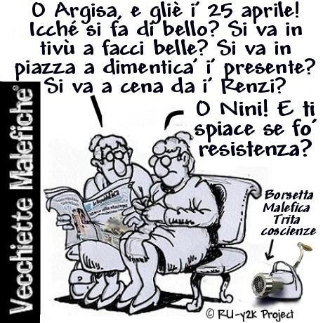 Vecchiette Malefiche- Liberazione - 25-04-2015