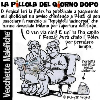 Renzi no Rolex – Rolex No Renzi