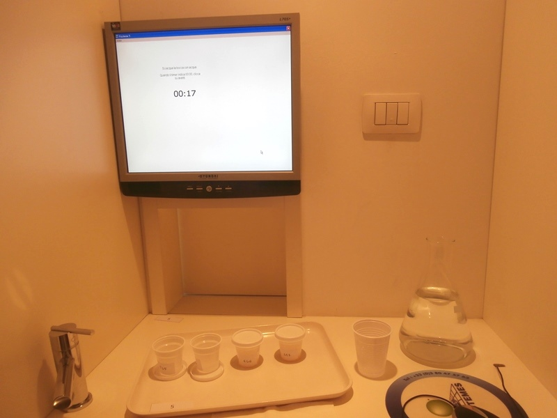 Laboratorio sensoriale 2