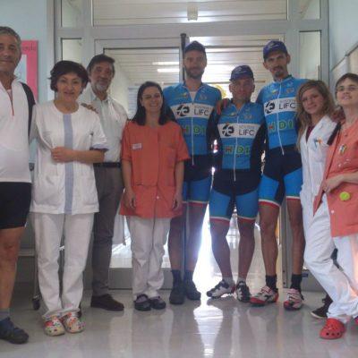 Da Firenze a Capo Nord in bici con Pedala per un respiro