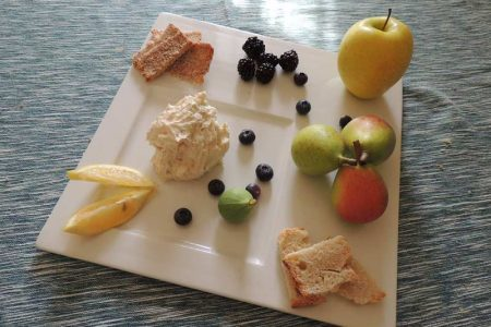 Robiola gorgonzola frutta a gogò