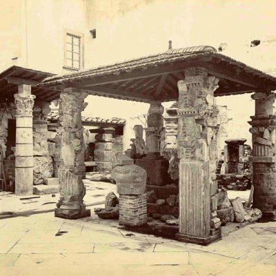 Il cortile dei Fiorentini