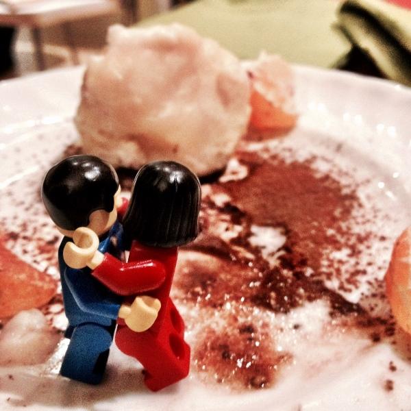 ME&TE dopo aver mangiato gli gnudi col cuore di cioccolato