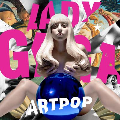 La copertina di un album di lady gaga fatta da jeff Koons. Dietro si vede la Venere del Botticelli. jeff, sei un pò fissato con Firenze?