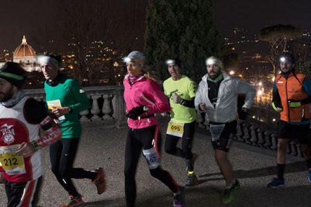 Di corsa, di notte, a Boboli: è la Firenze Urban Trail