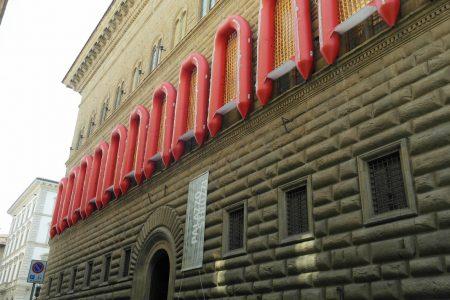 Gommoni su Palazzo Strozzi?