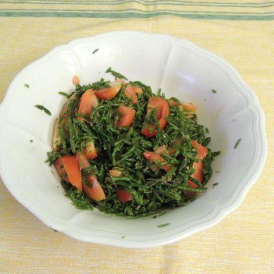 Insalata di Salicornia o asparago di mare