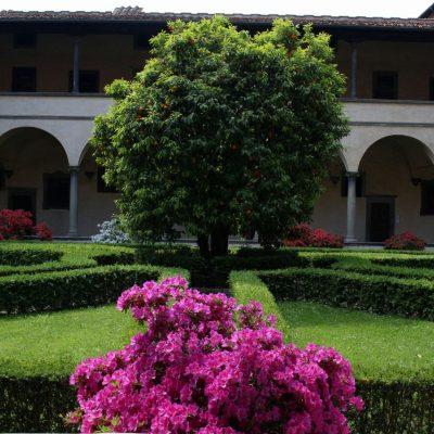 La primavera nella Basilica di San Lorenzo