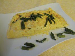 Omelette di asparagi
