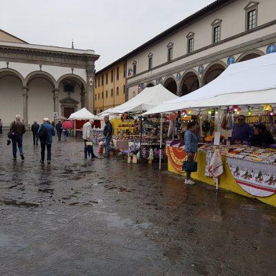 Mercato Europeo a Firenze, vincono i sapori italiani