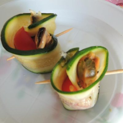 Zucchine e pomodori: antipasti e finger food