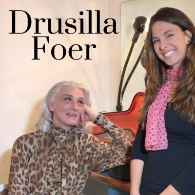 Drusilla Foer, affascinante ed eclettica artista