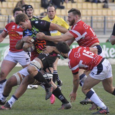 Solo le Zebre riscattano il rugby italiano
